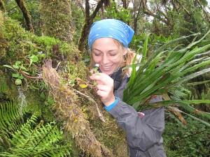 Fulbright Scholar Amanda Wendt in Costa Rica. Photo by Vanessa Boukili