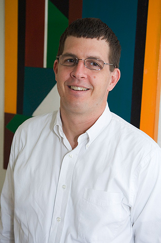 Lyle Scruggs, associate professor of political science. (Daniel Buttrey/UConn Photo)<br>