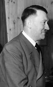 <p>Adolf Hitler. Image from the Thomas J. Dodd Papers, Thomas J. Dodd Research Center, University of Connecticut Libraries. Photo by Presse-Hoffmann-Berlin</p>