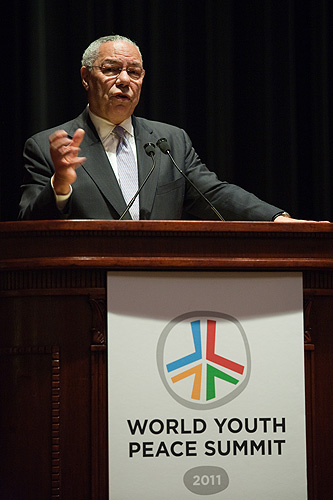 world issues comparing two articles colin powell world summit The mention of the domino theory in southeast asia and a similar effect in the middle east, is an important point in understanding the geopolitical framework, and the underlying causes of post world war ii global politics and power struggles.