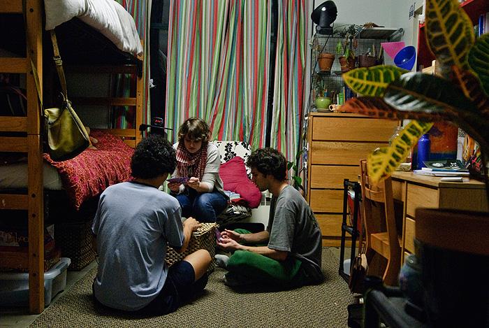 image College dorm nursing major teen backshots
