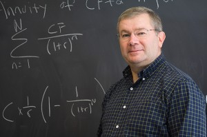 <p>James Trimble, director of the Actuarial Science Program. Photo by Claric Chow</p>
