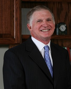 <p>Timothy Holt '75, chairman of the Board of Directors of the UConn Foundation. Photo by Michael Fiedler</p>