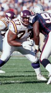 <p>Korey Stringer. Courtesy of the Minnesota Vikings</p>