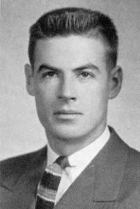 <p>Jim Draper, from the 1940 Nutmeg Yearbook.</p>