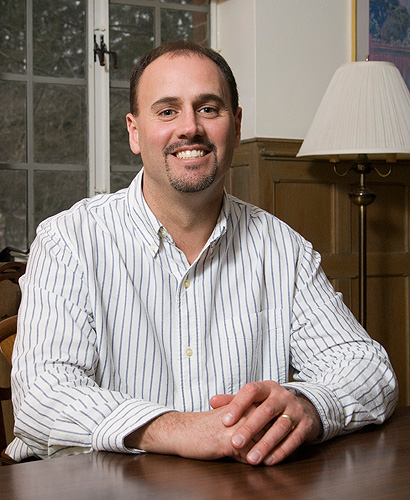 <p>Keith Bellizzi, assistant professor of human development and family studies. Photo by Frank Dahlmeyer</p>