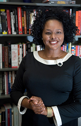 """<p>Shayla C. Nunnally, assistant professor of political science, has written a book< """"In Whom Do We Trust?:  Black Americans, (Dis) Trust, and the Vestiges or Race"""" which will be released next year by New York University Press. Shayla C. Nunnally, assistant professor of political science, has written a book """"In Whom Do We Trust?:  Black Americans, (Dis) Trust, and the Vestiges or Race"""" which will be released next year by New York University Press. Photo by Daniel Buttrey</p>"""
