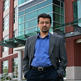 Mohammad Tehranipoor, associate professor of electrical and computer engineering and director of CHASE. (UConn File Photo)