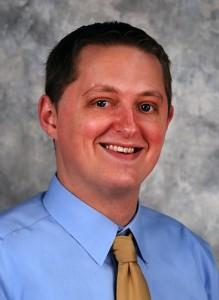 Joe Blondin is the School of Dental Medicine Class of 2011 commencement speaker. (Janine Gelineau/UConn Health Center Photo)