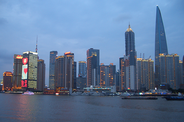 Dayton Horvath, a rising senior majoring in chemistry, just returned from Fudan University in Shanghai, China where he attended the Universitas 21 Undergraduate Research Conference. During his stay in Shangai, Horvath snapped skyline photos of the city taken in both daylight and after dark.