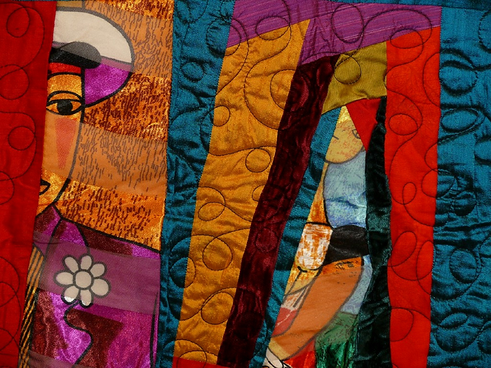 """One in Every Bunch"" quilt by Ed Johnetta Miller. (Photo provided by Ed Johnetta Miller)"