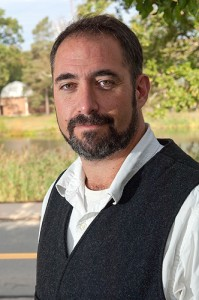 Matthew McKenzie, assistant professor of history. (Daniel Buttrey/UConn Photo)