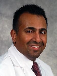 Dr. Omar Ibrahimi, Dermatology. (Janine Gelineau/UConn Health Center Photo)