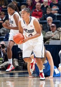 Freshman forward Kaleena Mosqueda-Lewis.