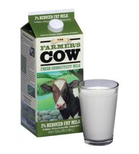The Farmer's Cow milk.