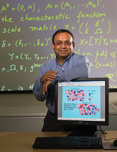 Dipak Dey, Board of Trustees Distinguished Professor of Statistics, is heading the Cigna Analytics Partnership. (Peter Morenus/UConn Photo)