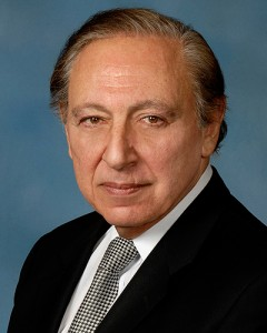 Dr. Robert C. Gallo, Director of the Institute of Human Virology at the University of Maryland School of Medicine. (Speaker and Honorary Degree recipient at Graduate ceremony.