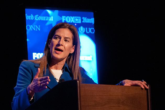 Democratic candidate Susan Bysiewicz. (Peter Morenus/UConn Photo)