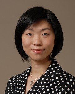 Ying Wang '12 Ph.D. (Peter Morenus/UConn Photo)