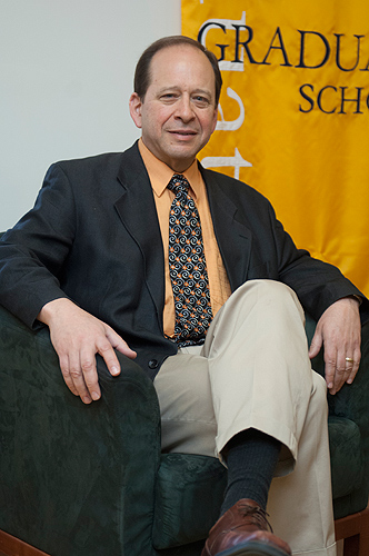 Kent Holsinger, Board of Trustees Distinguished Professor of Ecology and Evolutionary Biology. (Daniel Buttrey/UConn Photo)