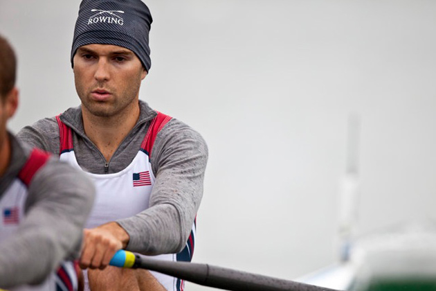 Jonathan Winter during one of his races at the World Cup 1 in Munich, Germany in 2011. (Photo by Erwin Wyers)