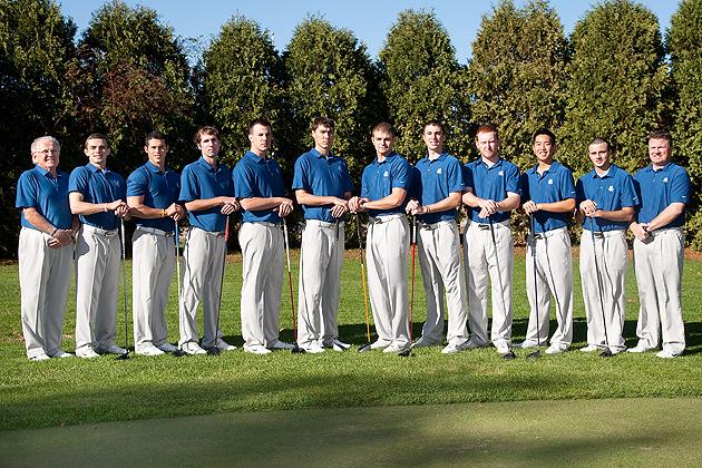 UConn golf team 2011-2012 (Steve Slade '89 (SFA) for UConn.