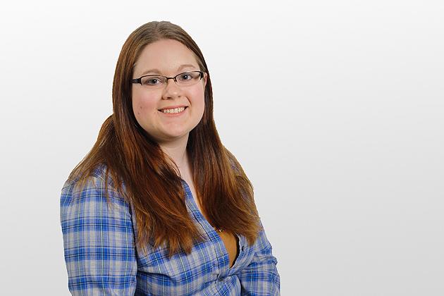 Kimberly Sayre on April 24, 2012. (/UConn Photo)