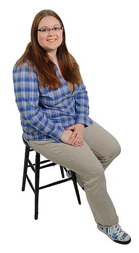 Kimberly Sayre. (Peter Morenus/UConn Photo)