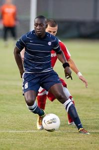 Stephane Diop '•13 (CLAS), a soccer player from Dakar, Senegal.