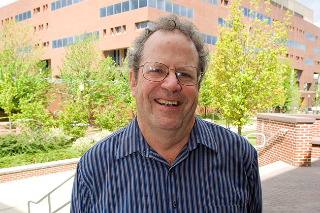 Professor emeritus David Kenny. (Daniel Buttrey/UConn Photo)