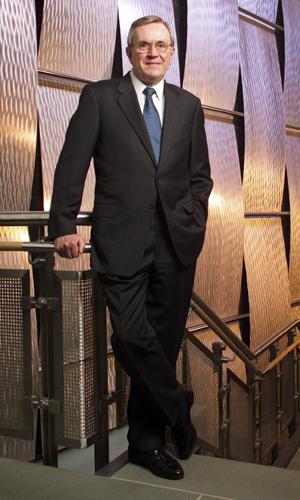 Philip E. Austin, University president 1996-2007 and 2010-2011. (Paul Horton for UConn)