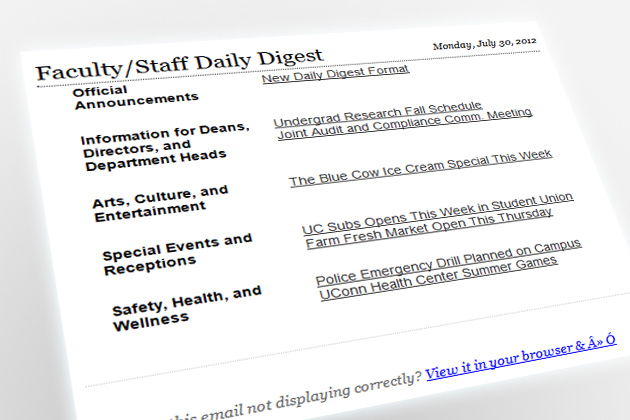 New Look - Daily Digest Email - Monday, July 30, 2012