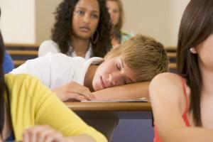 Sleeping Student (Shutterstock Photo)