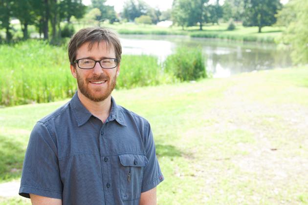 Andrew Deener, assistant professor of Sociology (Daniel Buttrey/UConn Photo)