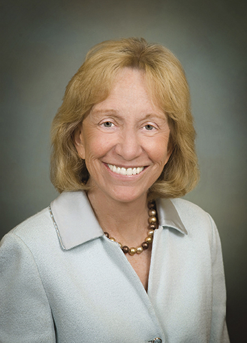 Noted author and presidential historian Doris Kearns Goodwin.
