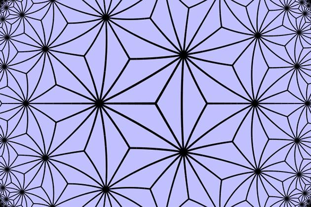 Triakis triangular tiling