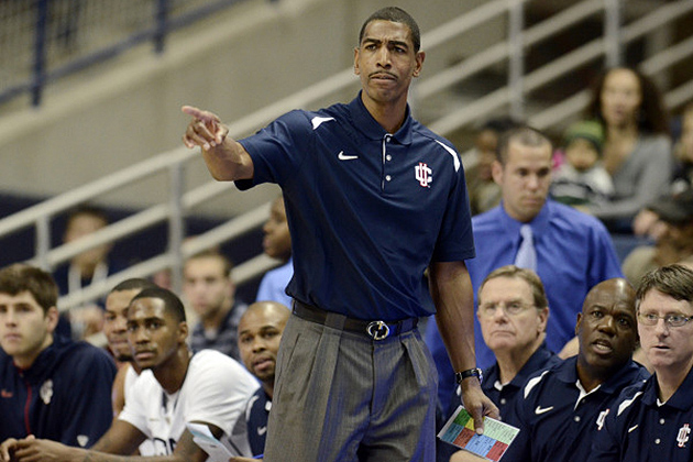 Ollie says he wants his players to get better every day. (Bob Stowell '70 (CLAS) for UConn)