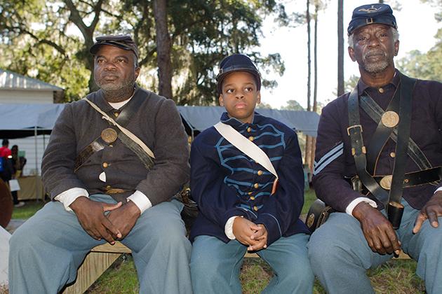 Gullah history - soldiers (Photo courtesy of Mary Ellen Junda)