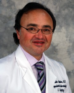 Claudio A. Benadiva, M.D., H.C.L.D., specializes in infertility and reproductive endocrinology at the UConn Health Center