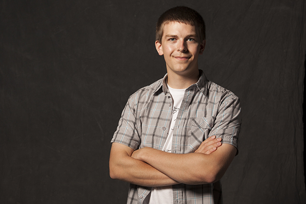 Ethan Butler. 2012 Marshall Scholarship recipient (Derek Dudek for UConn)