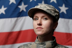 Women face special challenges in trying to combine a military career with motherhood. (Stock image)