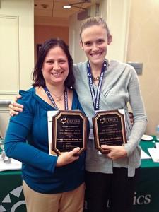 Kate Kubler and Dr. Kenia Mansilla-Rivera