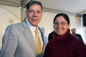 Dr. Frank Torti and Rose Barham