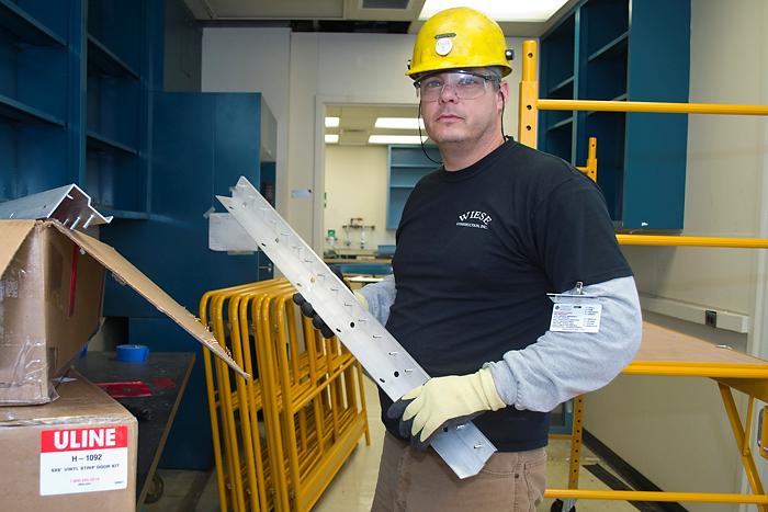 Joe Sladky from Wiese Construction