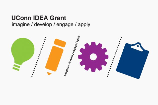 UConn IDEA Grant logo [ imagine / develop / engage / apply ]