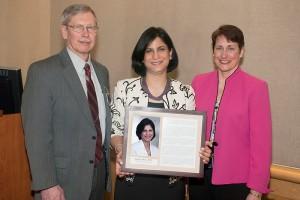 Dr. Pooja Luthra Doctors Day Award 2013