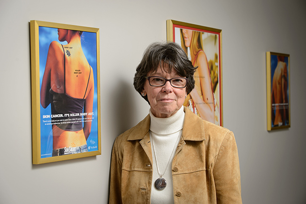 Meg Gerrard, research professor of psychology on March 28, 2013. (Peter Morenus/UConn Photo)