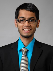 Jigish Patel '13 (CLAS). (Max Sinton'15 (CANR)/UConn Photo)