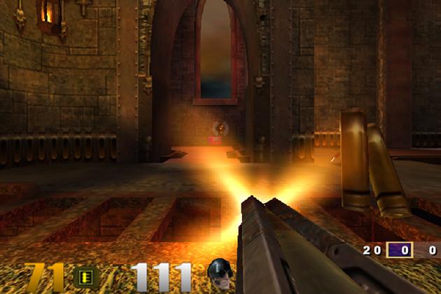 A screen capture from Quake 3 Revolution.
