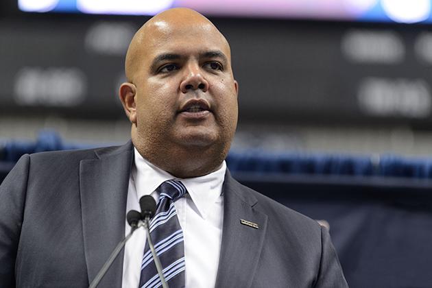 University of Connecticut Director of Athletics Warde Manuel. (Peter Morenus/UConn Photo)